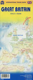 Great Britain Travel Reference map